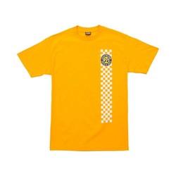 Mooneyes Holeshot T-Shirt Gold