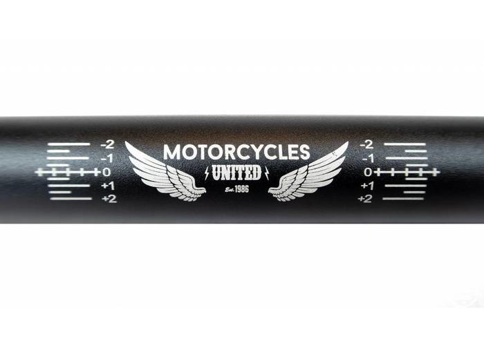 MCU Aluminium 7050 Fatbar  Black