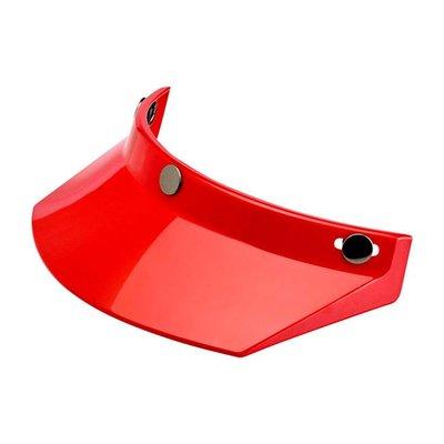 Biltwell Moto Visor Red