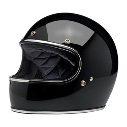 Gringo Helm Gloss BlackECE zugelassen