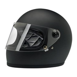 Gringo S helm Flat Black ECE goedgekeurd