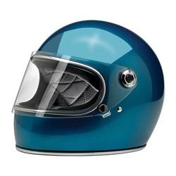 Casque Gringo S, bleu brillant et homologué ECE