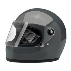Gringo S Helmet  Gloss Storm Grey ECE Approved