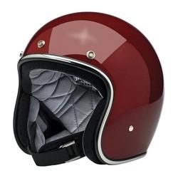 Bonanza 3/4 Open Face Helmet Gloss Garnet Size: S