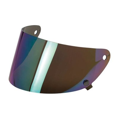 Biltwell Gringo S Anti-Fog Face shield Rainbow