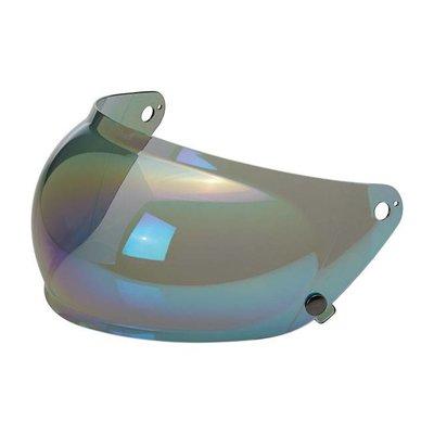 Biltwell Gringo S Anti fog Bubble Shield Rainbow Mirror