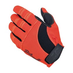 Moto Gloves Orange/Black/Yellow