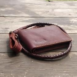 Wallet Chestnut Lucy