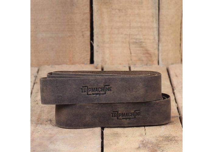 Trip Machine Poignées adhésives - brun tabac