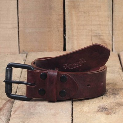 Trip Machine Belt - Cherry Red Single Pin