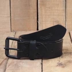Gürtel - schwarzer einzelner Pin