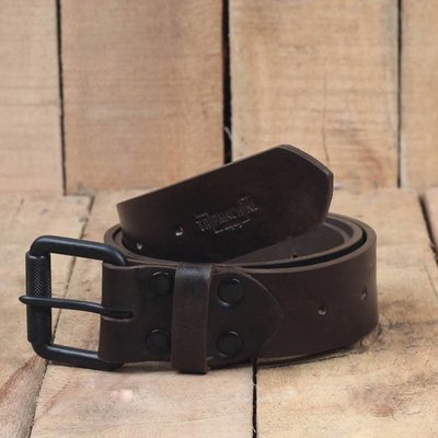 Trip Machine Belt - Tobacco Single Pin