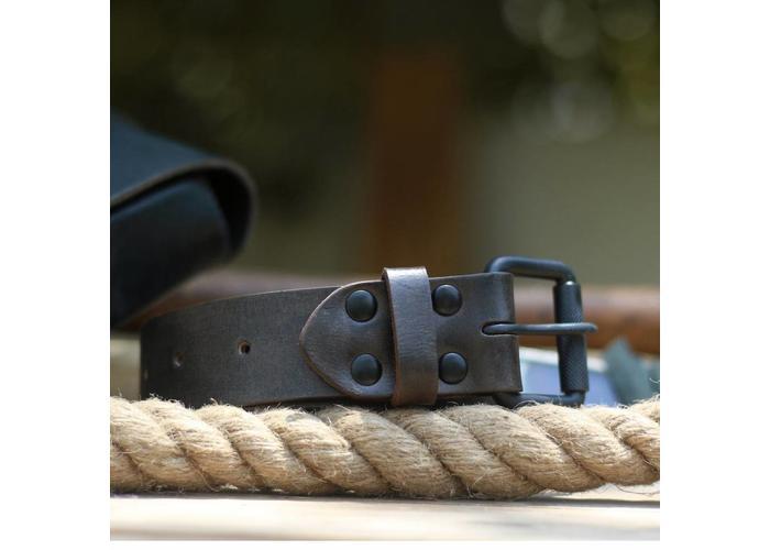 Trip Machine Belt - Tobacco Single Pin