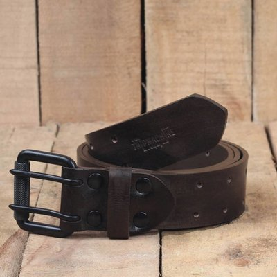 Trip Machine Belt - Tobacco Double Pin