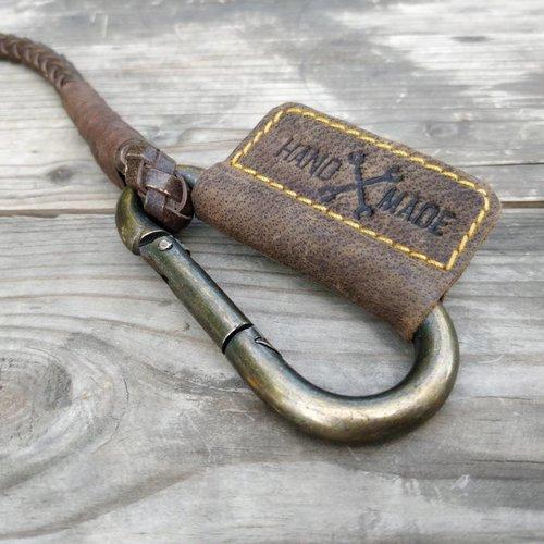 Trip Machine Geflochtener Schlüsselanhänger - Tobacco