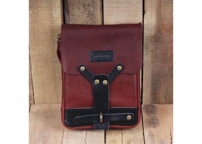 Trip Machine Thigh Bag - Cherry Red