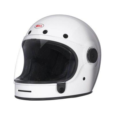 Bell Bullitt Classic Style Solid Weiß