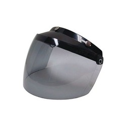 Custom 500 3-Snap Flip Shield Smoke