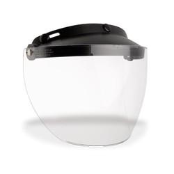 Custom 500 3-Snap Flip Shield Durchsichtig