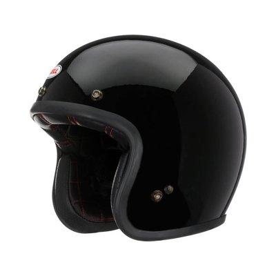 Bell Custom 500 Helm Solid Black