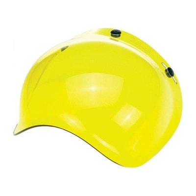 Biltwell ANTI-FOG BUBBLE SHIELD Yellow