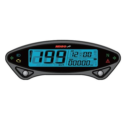 KOSO DB EX-02 Digital Speedometer