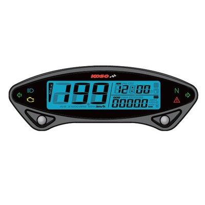 KOSO Indicateur de vitesse numérique DB EX-02
