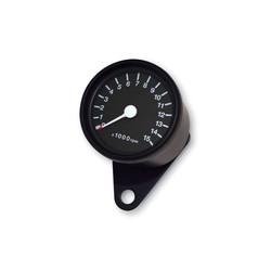 Compte-tours noir Café Racer 15.000 tr/min
