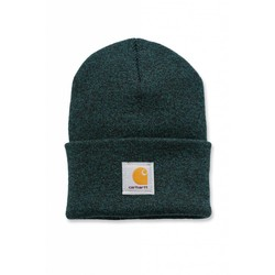 Acrylic Watch Beanie HUNTER GREEN/BLACK