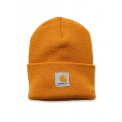 Acrylic Watch Beanie CARHARTT GOLD