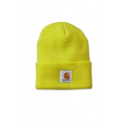 Bonnet Watch jaune vif