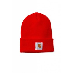 Acrylic Watch Beanie BRIGHT ORANGE