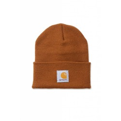 Acrylic Watch Beanie CARHARTT BROWN