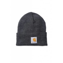 ACRYLIC Beanie COAL HEATHER