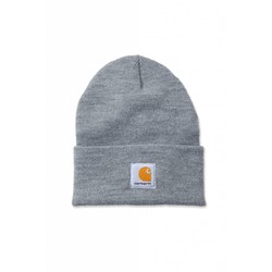 Acrylic Watch Beanie HEATHER GREY