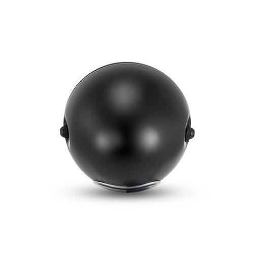 "7.7 ""Klassieke matzwarte mesh-koplamp - gele lens"
