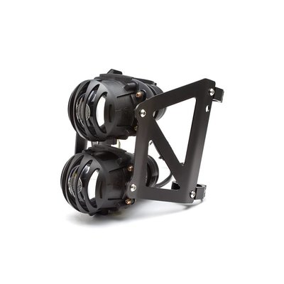 Twin Prison Grid Projector Headlight Set 40-41mm