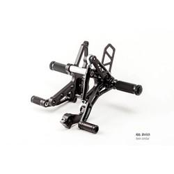 Rear Set Bonneville 01 black