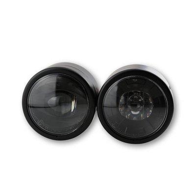 Shin Yo Dubbele koplamp zwart