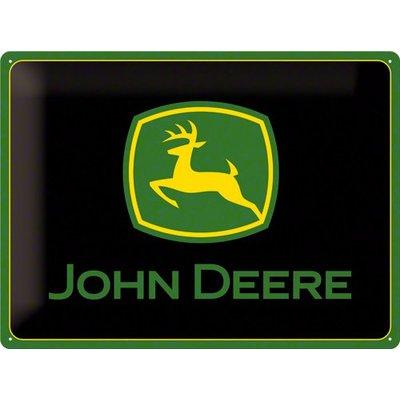John Deere 40x30 Blechschild