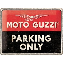 Moto Guzzi Parking 40x30 Blechschild