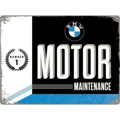 BMW Wartung 30x40cm Blechschild