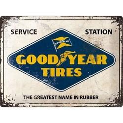 Goodyear Logo 40x30 Blechschild