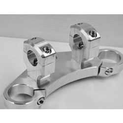 BMW K75 Triple clamp with hinges