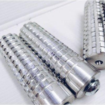 Fußstütze aluminium