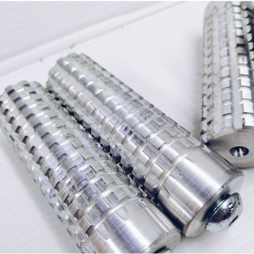 Voetsteun aluminium