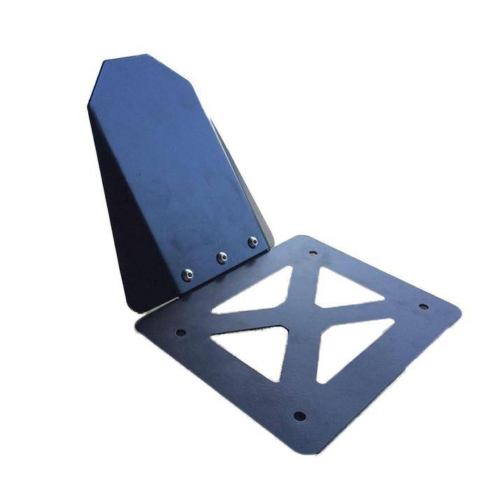 2 Triangle Brackets for Mounting of Tool and Battery Boxes
