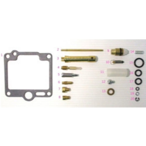 Honda CB750 F1 K1 Carburettor repair kit - CafeRacerWebshop com