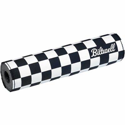 Biltwell MOTO BAR PAD CHECKERS/SCRIPT BLACK
