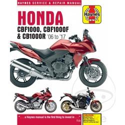 Manuel de réparation HONDA CBF1000 CBF1000F CB1000R 06-17